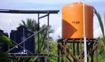 We help the community in Pendingin area by providing access to clean water
