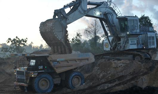 Open Cut Mining Truck & Shovel