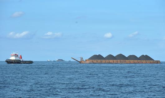 Barging (300 ft) To M. Jawa 30 NM To M. Berau 65 NM
